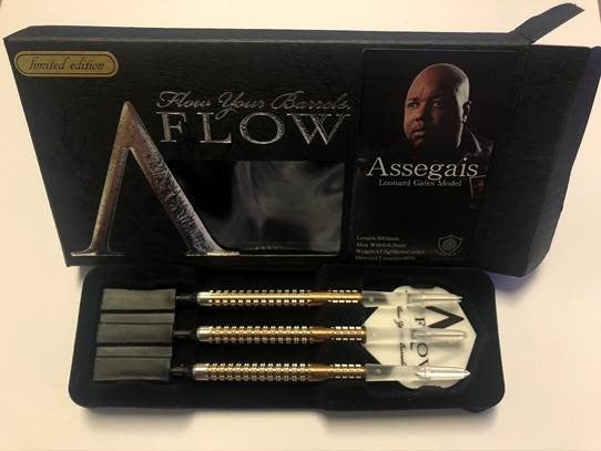 Dynasty A-Flow Limited Edition Assegais Leonard Gates Soft Tip