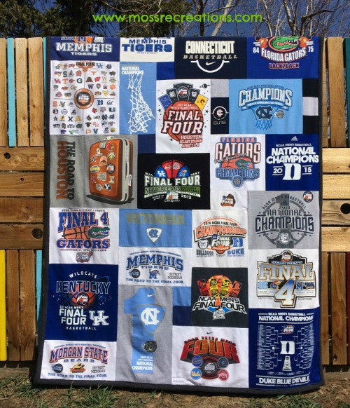 Final Four and T-shirt Quilts