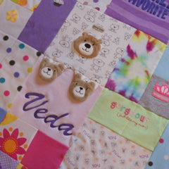 Quilts made from Baby and Children's Clothing