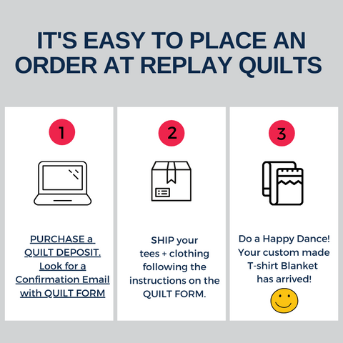 Replay Quilts easy to Order Graphic