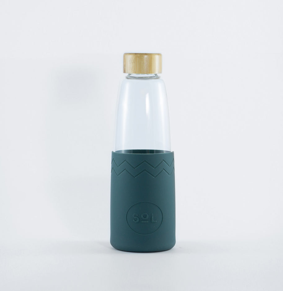 Reusable Sol Glass Bottle