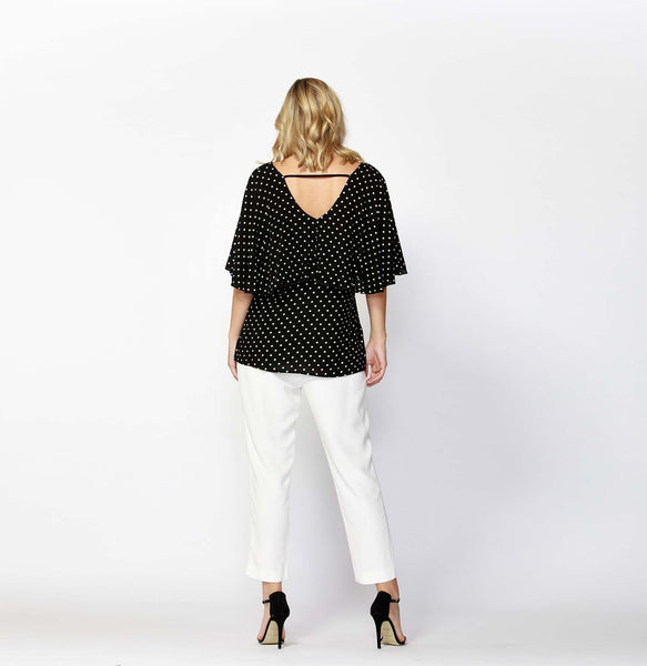 Paris Nights Capelet Top