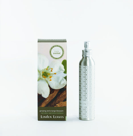 Linden Leaves Ginseng and Orange Blossom Room Spray