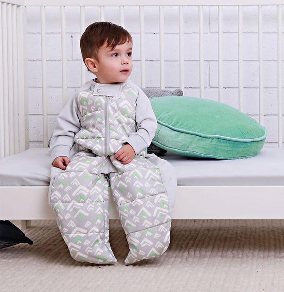 Sleep Suit Bag (2.5 tog) - Grey Mountains