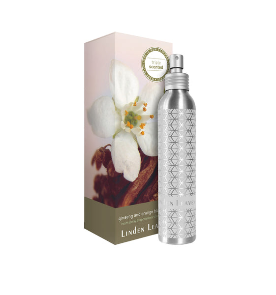 Ginseng and Orange Blossom Room Spray