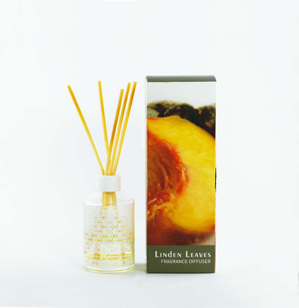 Linden Leaves Ginger Peach Fragrance Diffuser