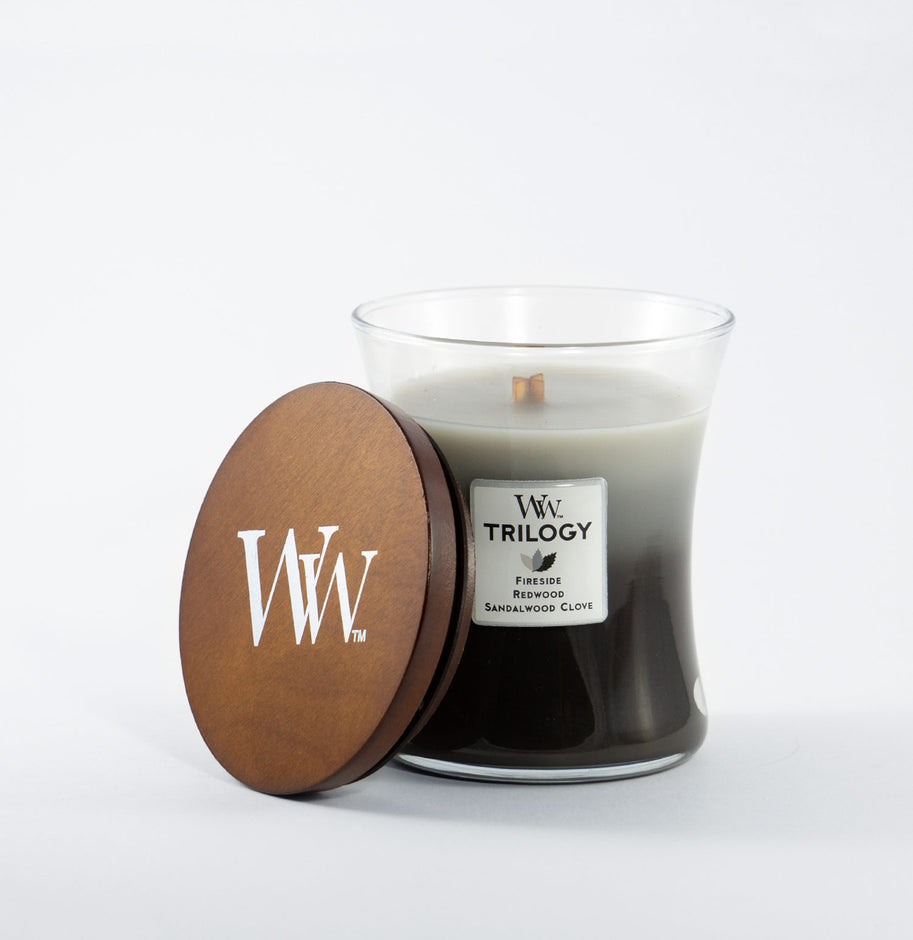 Wood Trilogy Candle