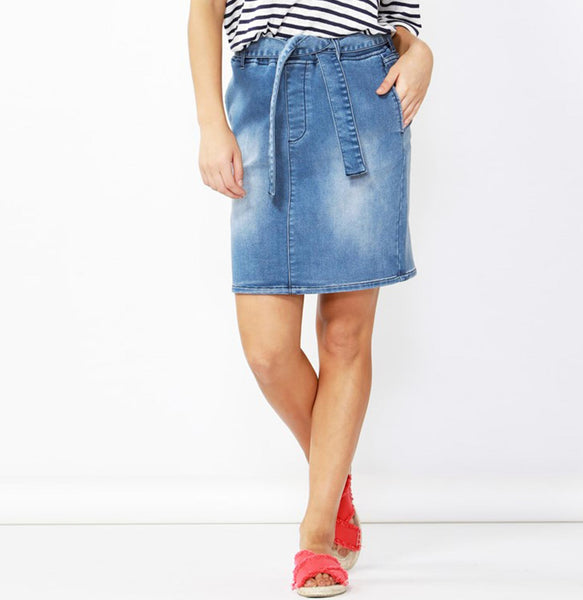 Archer Stretch Denim Skirt
