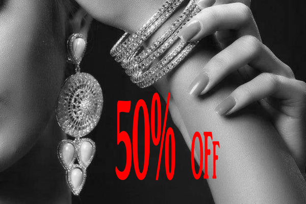 Closeout Jewelries 50% Off