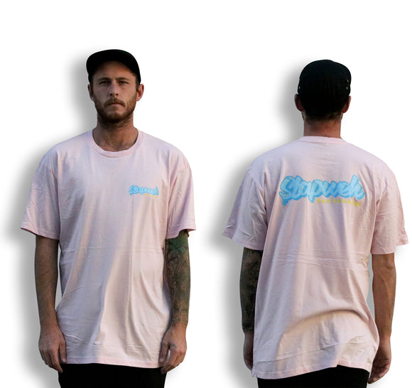 Pastel Short Sleeve Tees-T-Shirts-Slapweh Skateboards
