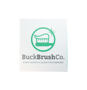 Buck Brush with Charger, UV Head Sanitizer & Monthly Subscription