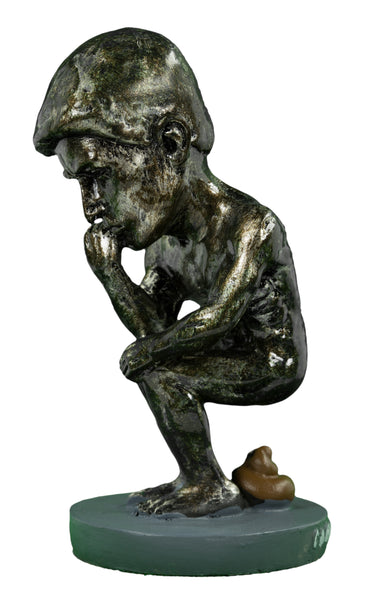 Thinker Caganer