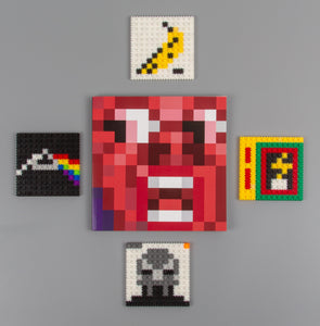 """Album Artifact"" pixel art book"