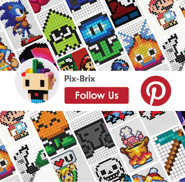 Pix-Brix is on Pinterest!