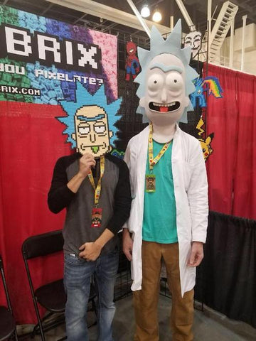 rick and morty pix brix