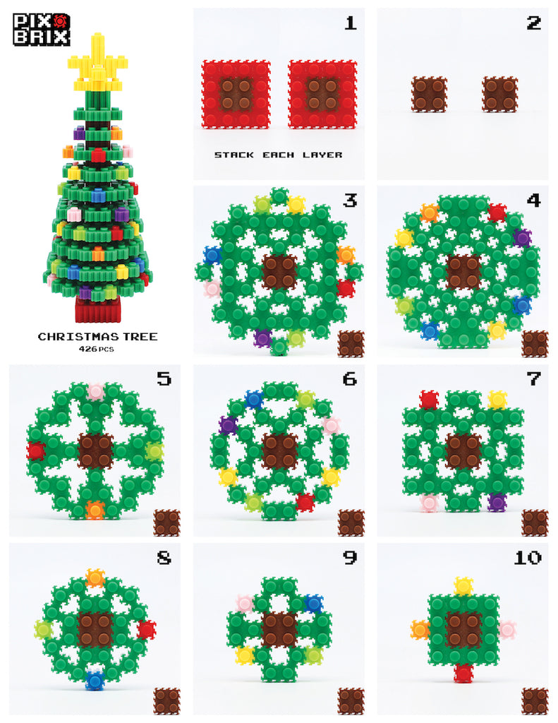 christmas tree instructions
