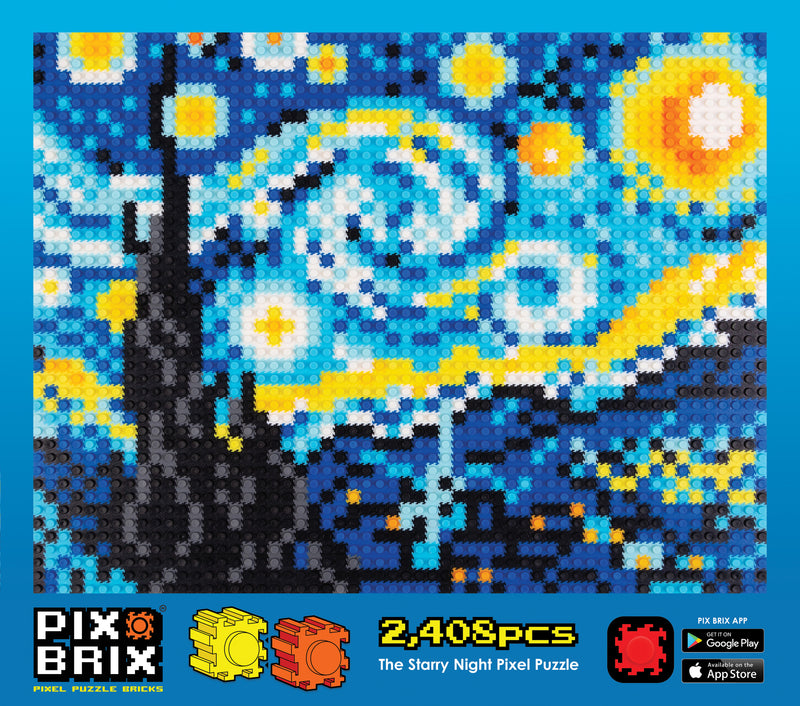 Starry Night Pixel Puzzle