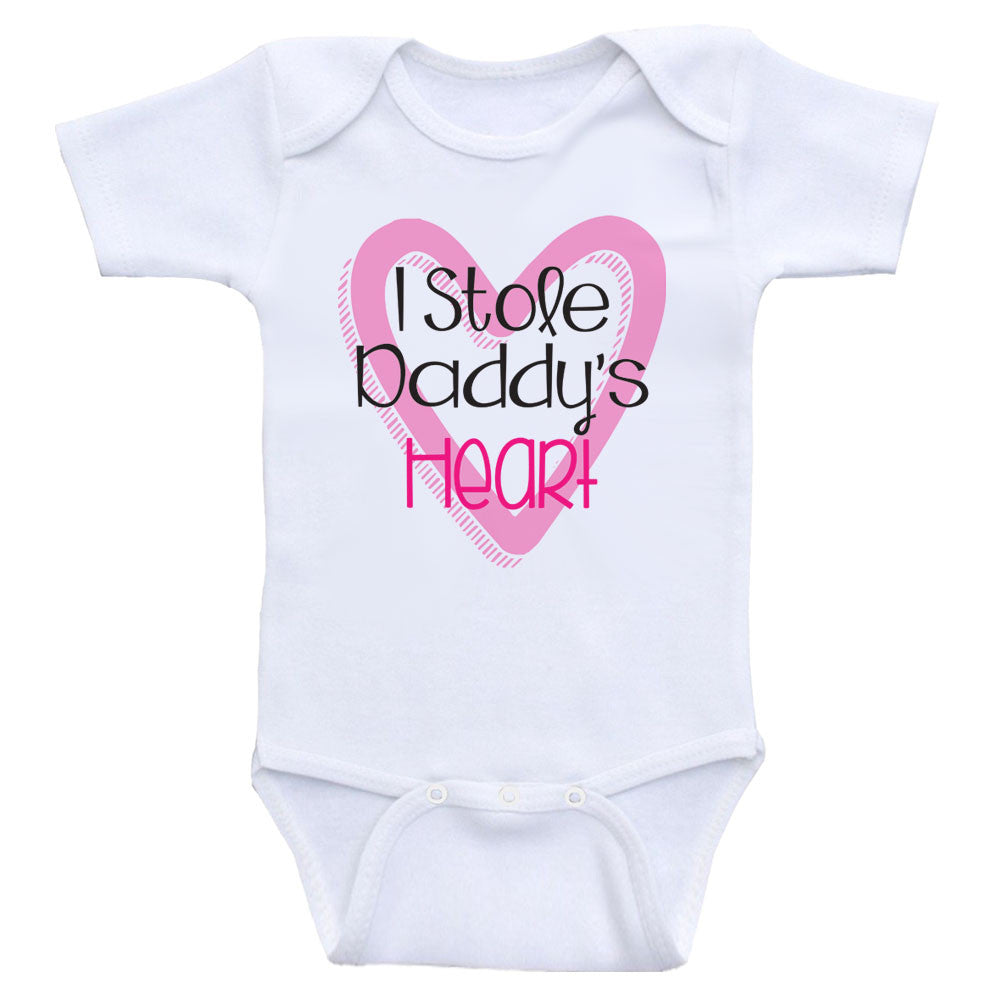Heart Co Designs Birthday Baby Onesie Happy Daddy Clothes Novelty