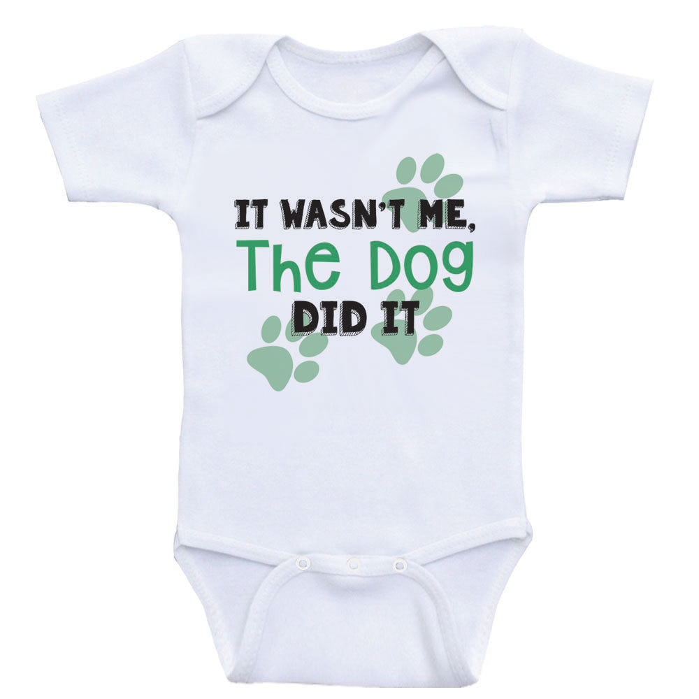It Was Me I LET The DOGS OUT Dog Lover T shirt for Babies Baby Shirt Baby Tee Baby Baby Shirts Infant Funny Baby T Shirt for Babies