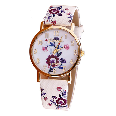 Geneva Floral Lady Watch '16 - VPWallet.com Online Store for Fashion Accesories