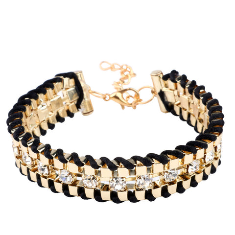 Diamond Gold Bracelet - VPWallet.com Online Store for Fashion Accesories