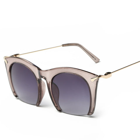Half Rim Cat Eye Women Sunglasses - VPWallet.com Online Store for Fashion Accesories