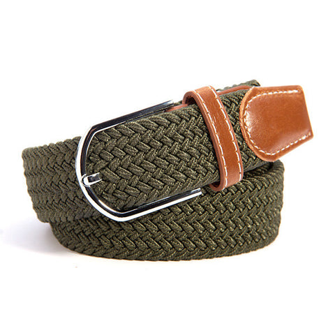 Casual Canvas Webbed Belt - VPWallet.com Online Store for Fashion Accesories