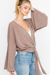 Wrap It Up Top - Nineteen Boutique