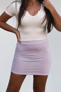 The Lola Skirt - Lavender