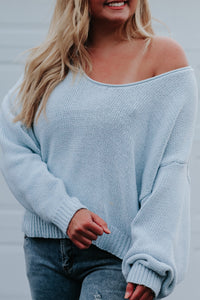 Easy Skies Sweater - Nineteen Boutique