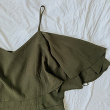 Load image into Gallery viewer, WAREHOUSE SALE: Olive Romper