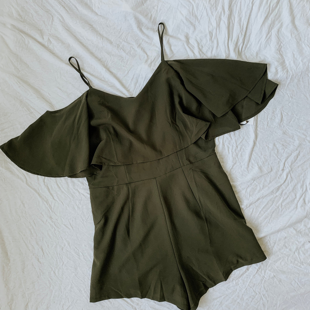 WAREHOUSE SALE: Olive Romper