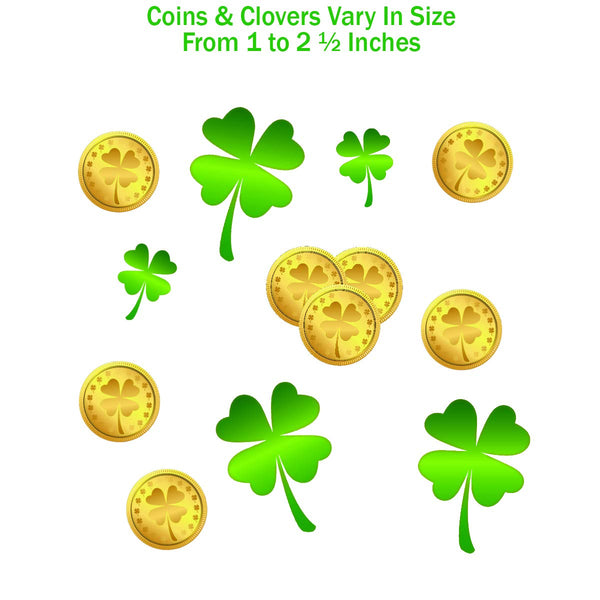 Leprechaun Footprint  Floor Decals 184 Ct (48 Footprints)