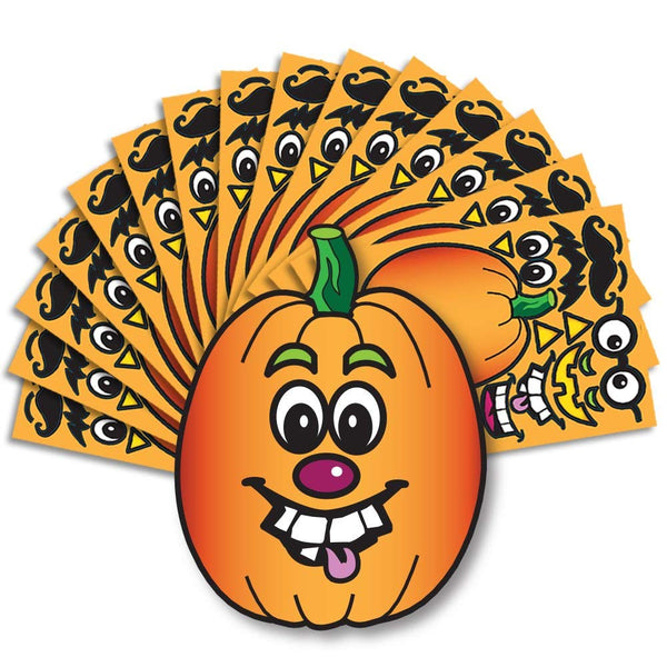 Create A Pumpkin Stickers Pack of 15