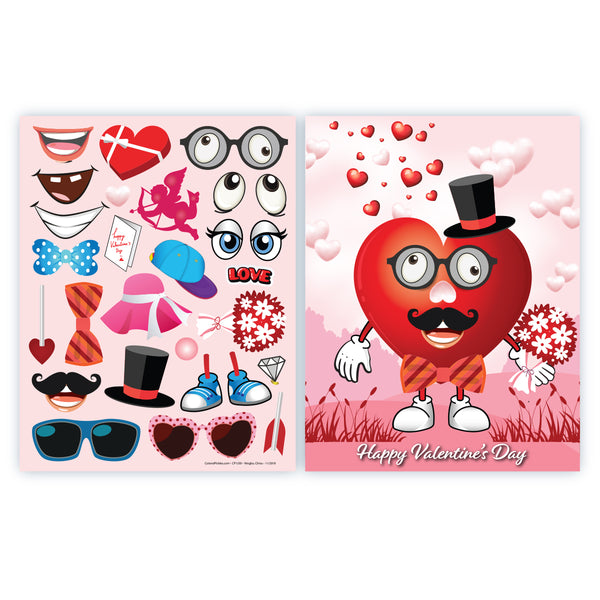 Make A Heart Valentines Day Crafts for Kids Kit