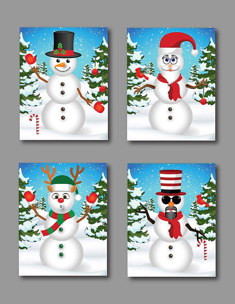 Create A Snowman Sticker Set - The Perfect Christmas Crafts For Kids