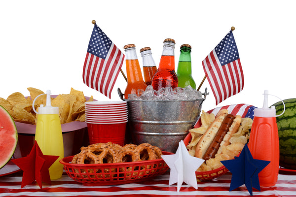 A rustic touch of class for your 4th of July party