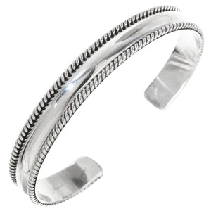 Sterling Silver Handcrafted Cuff Bracelet