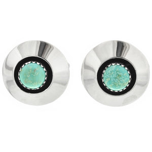 Turquoise & Sterling Silver Cufflinks