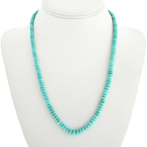 Natural Turquoise & Heishi Necklace