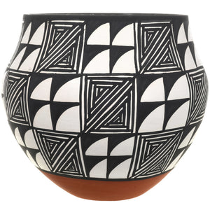Acoma Polychrome Pueblo Style Pottery by Mary Antonio Garcia