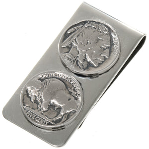 Buffalo Head Nickel Money Clip