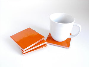 Citrus Mexican Tile Beverage Coasters