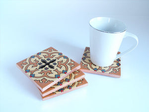 Cordova Mexican Tile Beverage Coasters