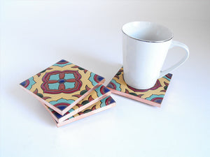 Malaga Mexican Tile Beverage Coasters