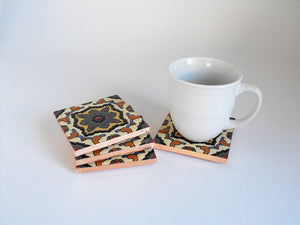 Salamanca Mexican Tile Beverage Coasters