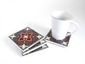 Trinidad Mexican Tile Beverage Coasters