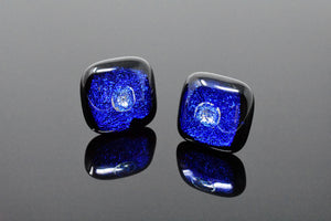 Royal Blue Artisan Cufflinks