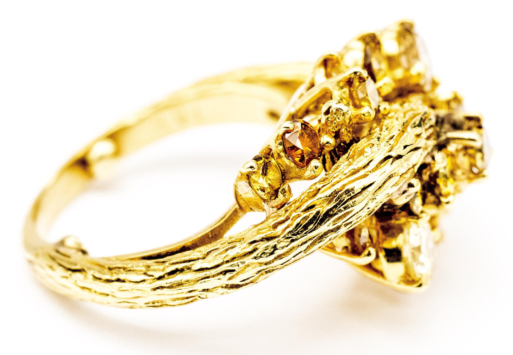 colored promise rings diamond beautiful in bokubat vintage wedding than yellow cool more gold