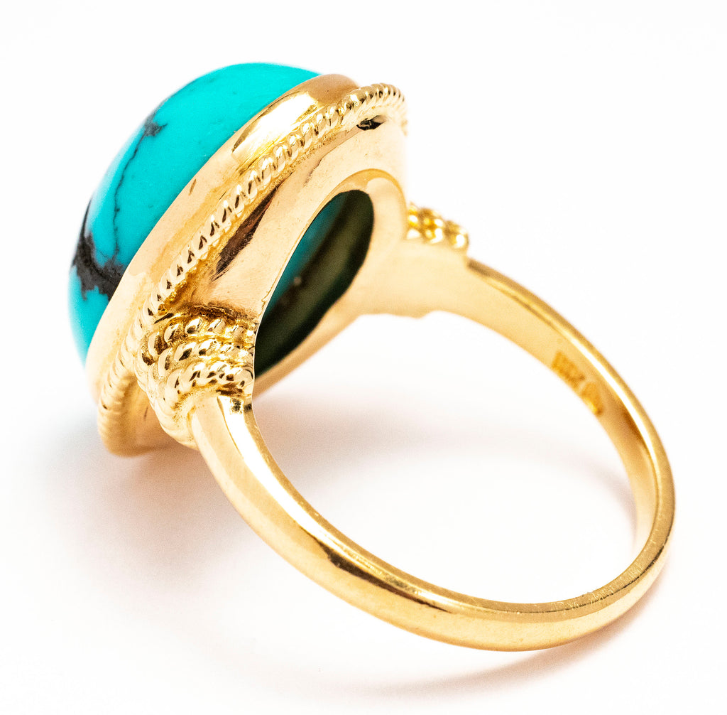 A Lady's Turquoise Ring